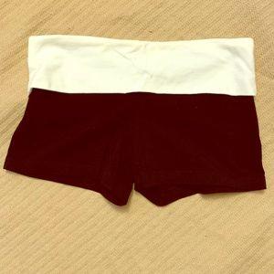 Yoga shorts - never worn!